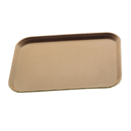 "Carlisle 3253GR076 Rectangular Serving Tray - 20-7/8x12-3/4"" Tan"
