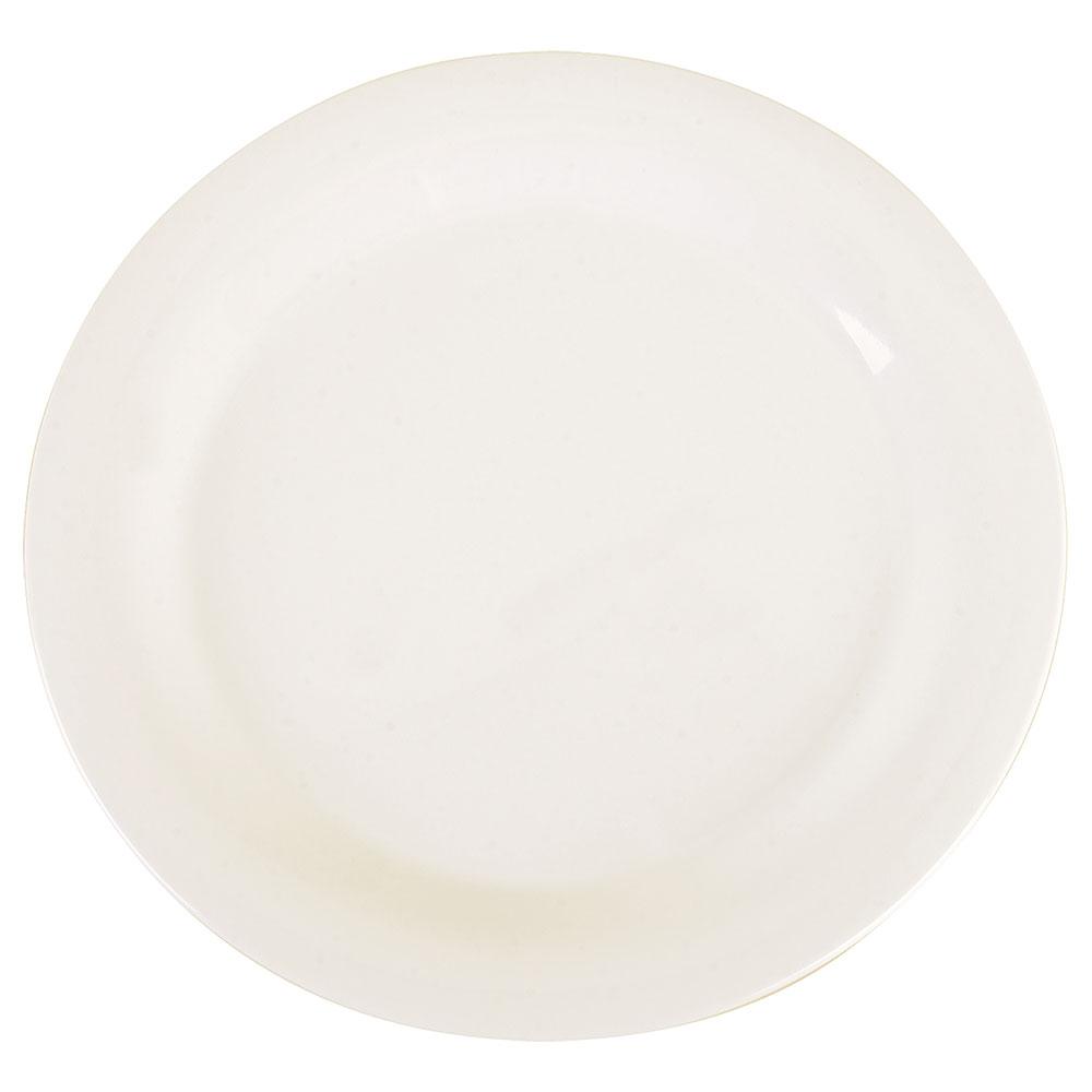 """Carlisle 3300202 10-1/2"""" Sierrus Dinner Plate - Melamine, White"""