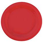 "Carlisle 3300205 10-1/2"" Sierrus Dinner Plate - Melamine, Red"