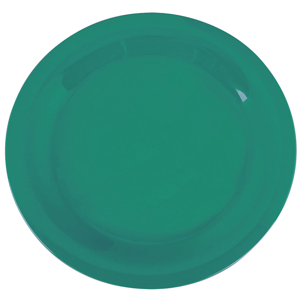 "Carlisle 3300209 10-1/2"" Sierrus Dinner Plate - Melamine, Meadow Green"