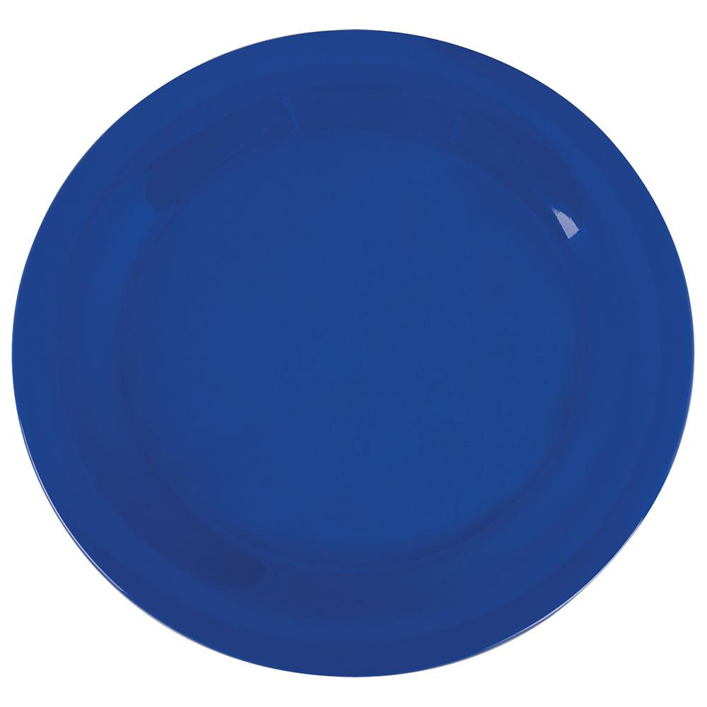 """Carlisle 3300214 10-1/2"""" Sierrus Dinner Plate - Melamine, Ocean Blue"""