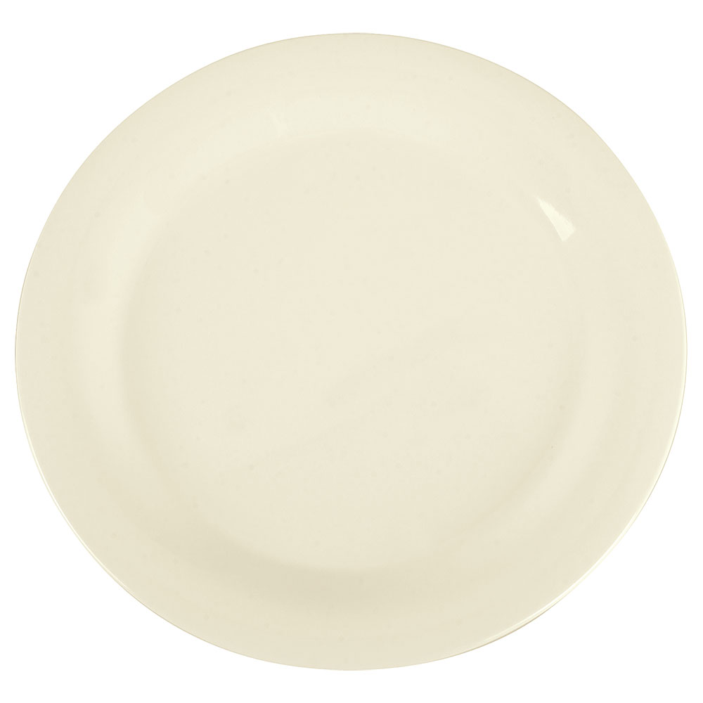"Carlisle 3300242 10-1/2"" Sierrus Dinner Plate - Melamine, Bone"