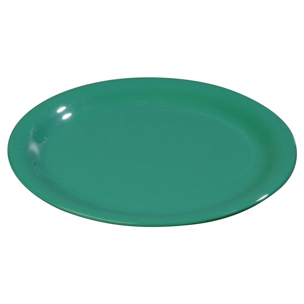 """Carlisle 3300609 7-1/4"""" Sierrus Salad Plate - Melamine, Meadow Green"""