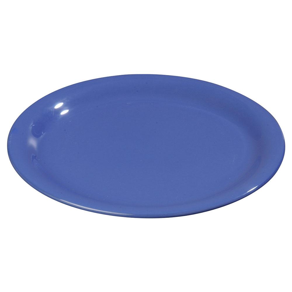"Carlisle 3300614 7-1/4"" Sierrus Salad Plate - Melamine, Ocean Blue"