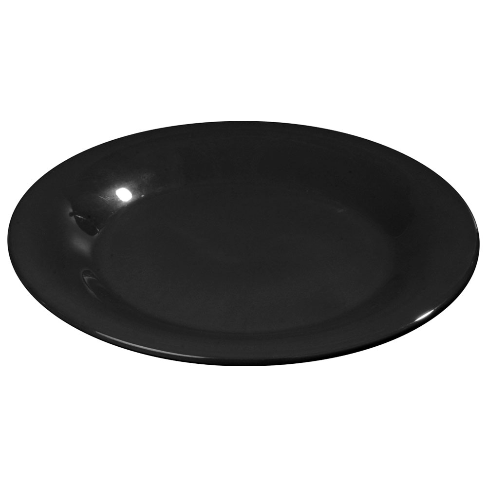 Carlisle Food Service 3301003 10.5-in Sierrus Dinner Plate Melamine NSF Black Restaurant Supply