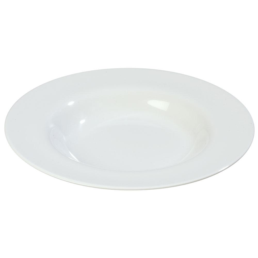 Carlisle 3303002 20-oz Sierrus Chef Salad/Pasta Bowl - Melamine, White