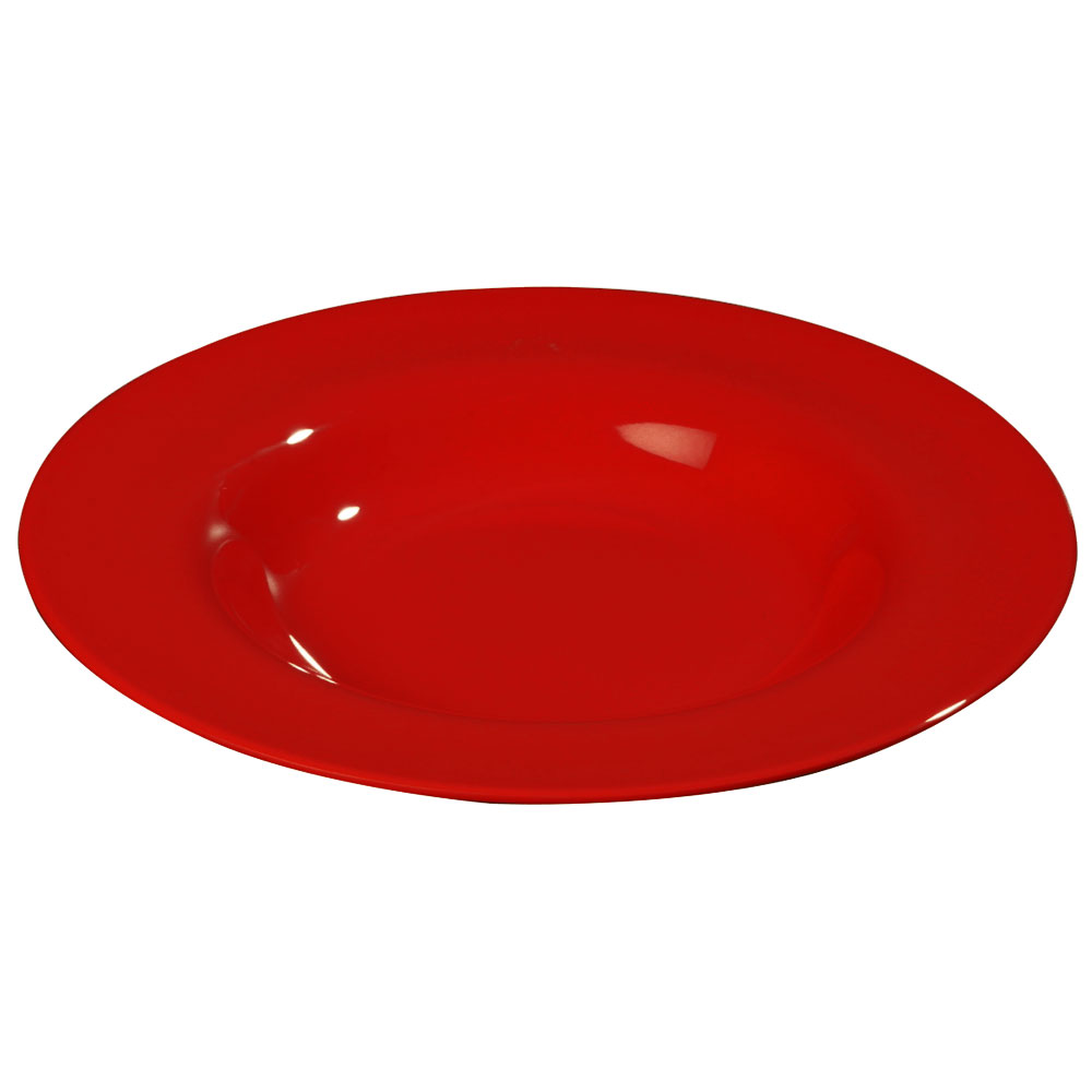 Carlisle 3303005 20-oz Sierrus Chef Salad/Pasta Bowl - Melamine, Red