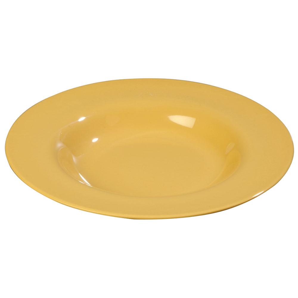 Carlisle 3303022 20-oz Sierrus Chef Salad/Pasta Bowl - Melamine, Honey Yellow