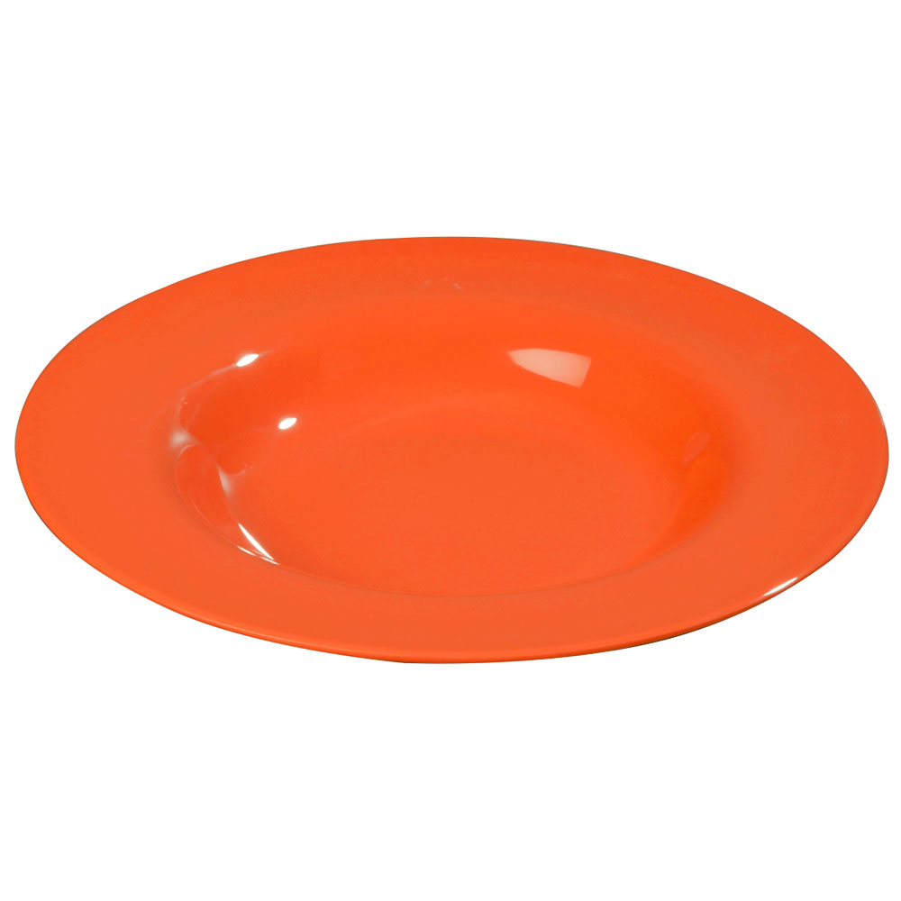 Carlisle 3303052 20-oz Sierrus Chef Salad/Pasta Bowl - Melamine, Sunset Orange