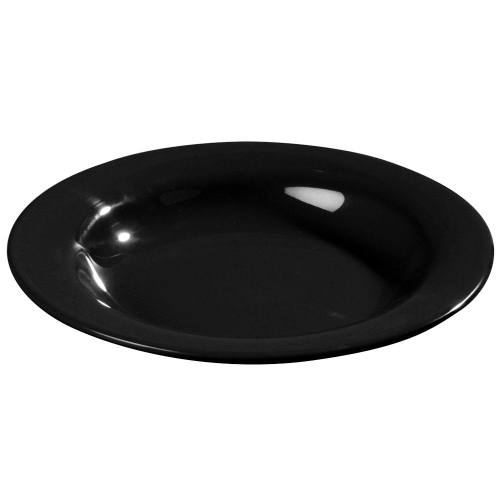 Carlisle 3303403 13-oz Sierrus Pasta/Soup/Salad Bowl - Melamine, Black