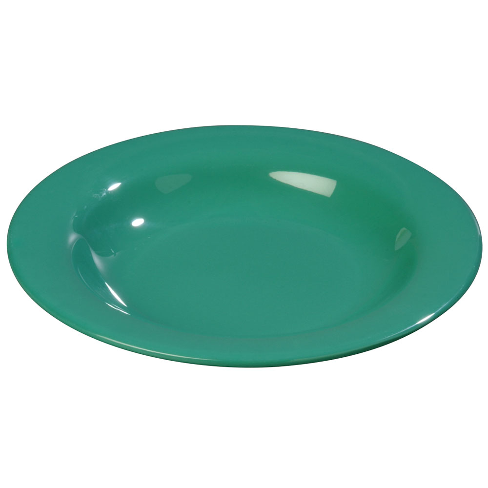 Carlisle 3303409 13-oz Sierrus Pasta/Soup/Salad Bowl - Melamine, Meadow Green