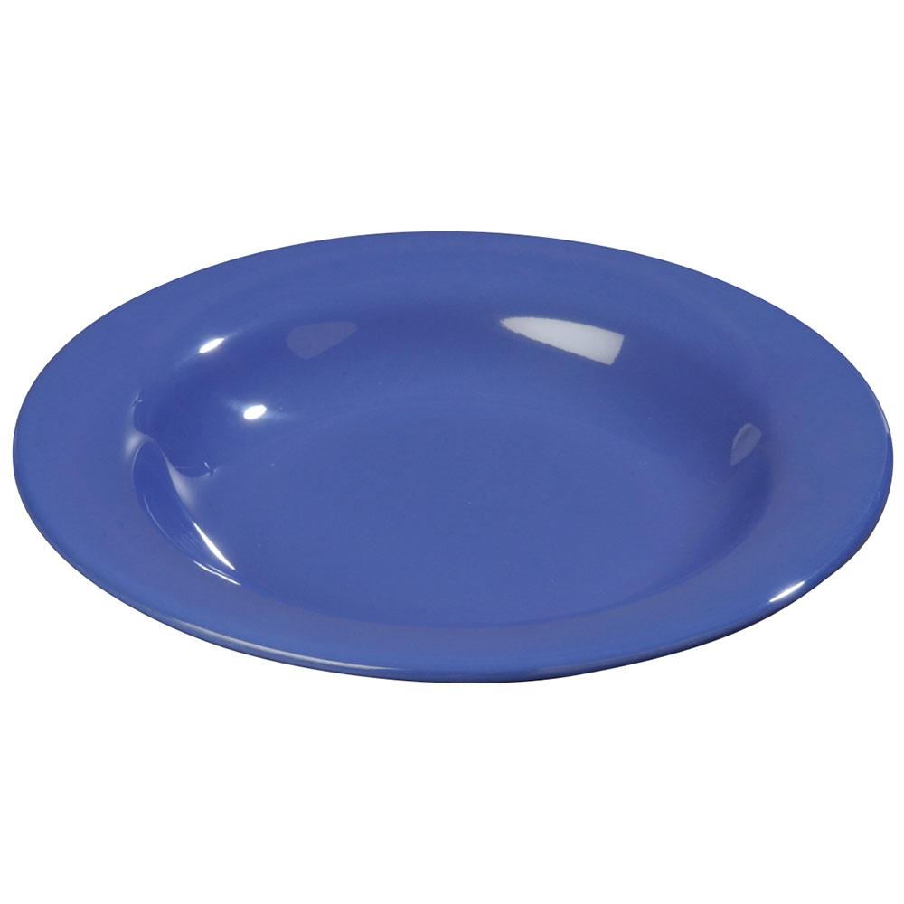 Carlisle 3303414 13-oz Sierrus Pasta/Soup/Salad Bowl - Melamine, Ocean Blue