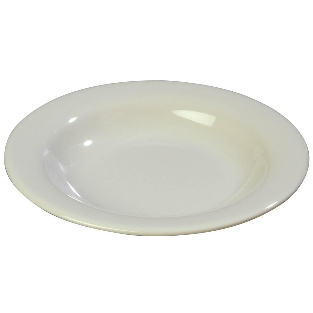Carlisle 3303442 13-oz Sierrus Pasta/Soup/Salad Bowl - Melamine, Bone