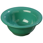 Carlisle 3303809 10-oz Sierrus Rimmed Nappie Bowl - Melamine, Meadow Green