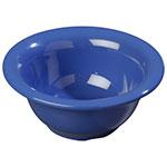 Carlisle 3303814 10-oz Sierrus Rimmed Nappie Bowl - Melamine, Ocean Blue