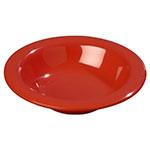 Carlisle 3304005 6-oz Sierrus Rimmed Bowl - Melamine, Red
