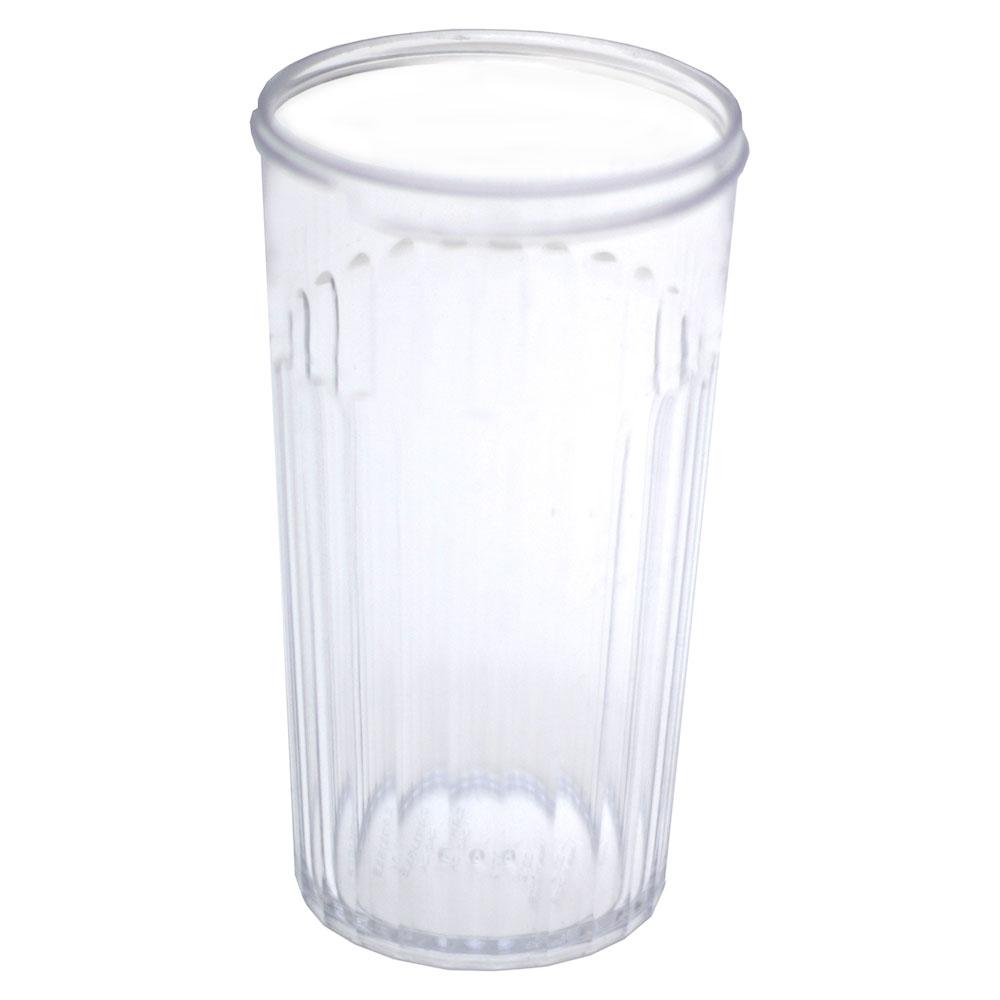 Carlisle 331207 12-oz Sugar Pourer Base - Standard Shaker/Pourer Caps, Clear