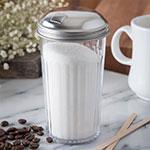 Carlisle 331607 12-oz Sugar Pourer - Stainless/Clear