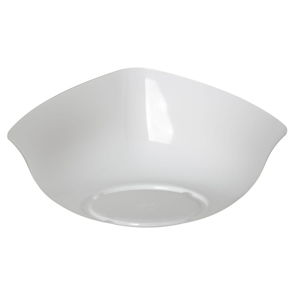 Carlisle 3336002 5-qt Square Flared Bowl - Melamine, White