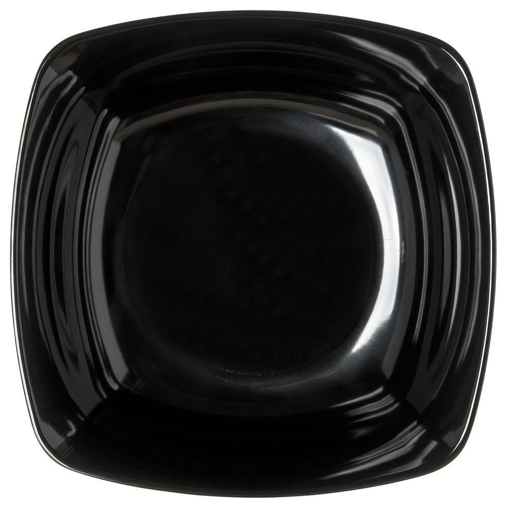 Carlisle 3336203 8-qt Square Flared Bowl - Melamine, Black