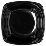 Carlisle 3336403 15-1/2-qt Square Flared Bowl - Melamine, Black