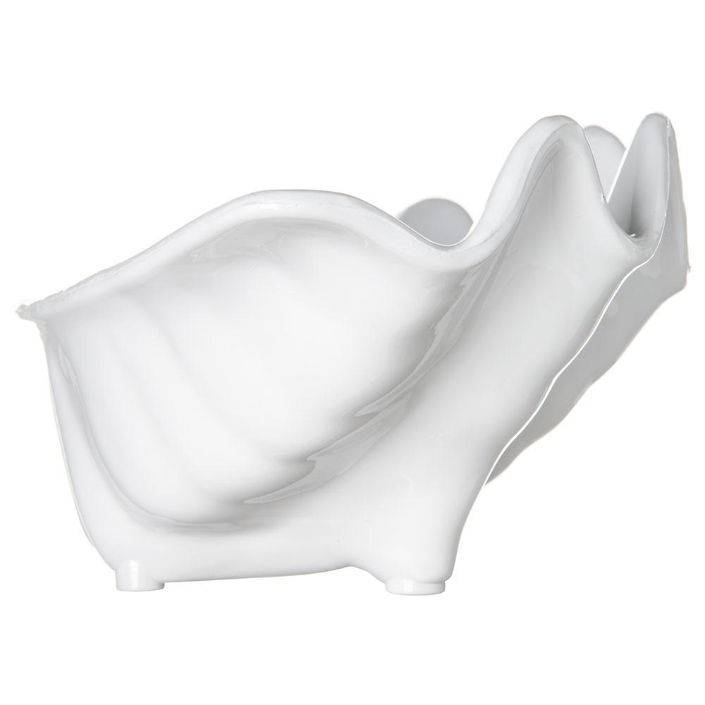 """Carlisle 33902 12-oz Buffet Clam Shell - 8-7/8x5-1/2"""" White"""