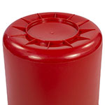 Carlisle 34101005 10-gallon Commercial Trash Can - Plastic, Round, Food Rated