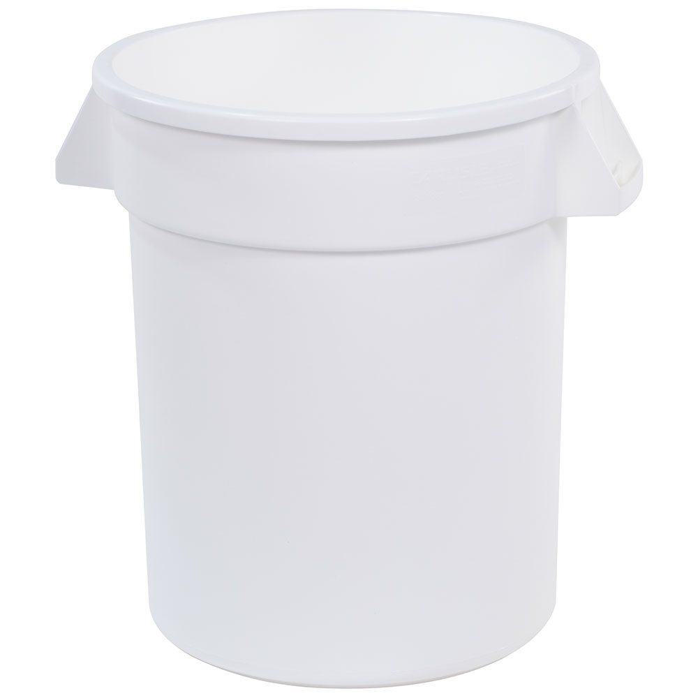 Carlisle 34102002 20-gallon Commercial Trash Can - Plastic, Round, Food Rated
