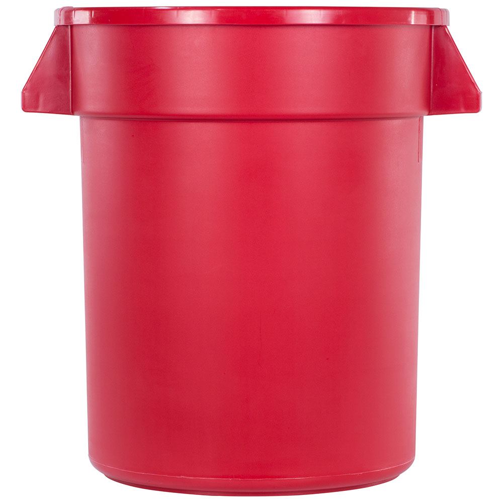 Carlisle 34102005 20-gallon Commercial Trash Can - Plastic, Round, Food Rated