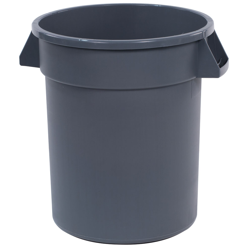 Carlisle 34102023 20-gallon Commercial Trash Can - Plastic, Round, Food Rated