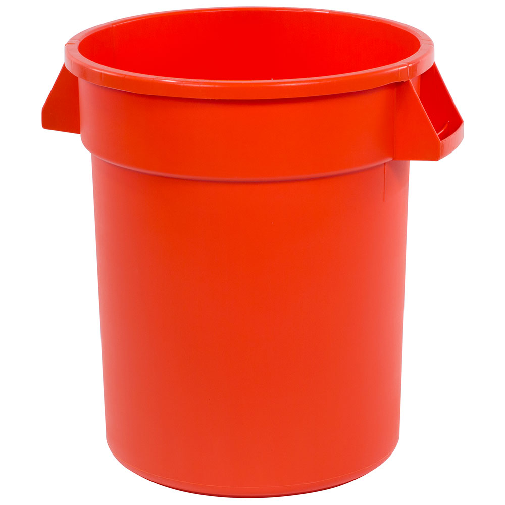 Carlisle 34102024 20-gallon Commercial Trash Can - Plastic, Round, Food Rated