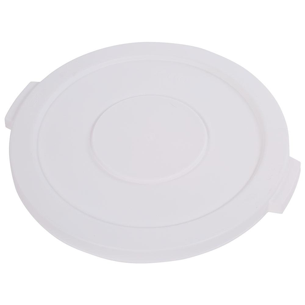 Carlisle 34102102 20-gal Round Waste Container Lid - Polyethylene, White