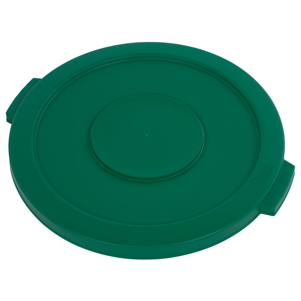 Carlisle 34102109 20-gal Round Waste Container Lid - Polyethylene, Green