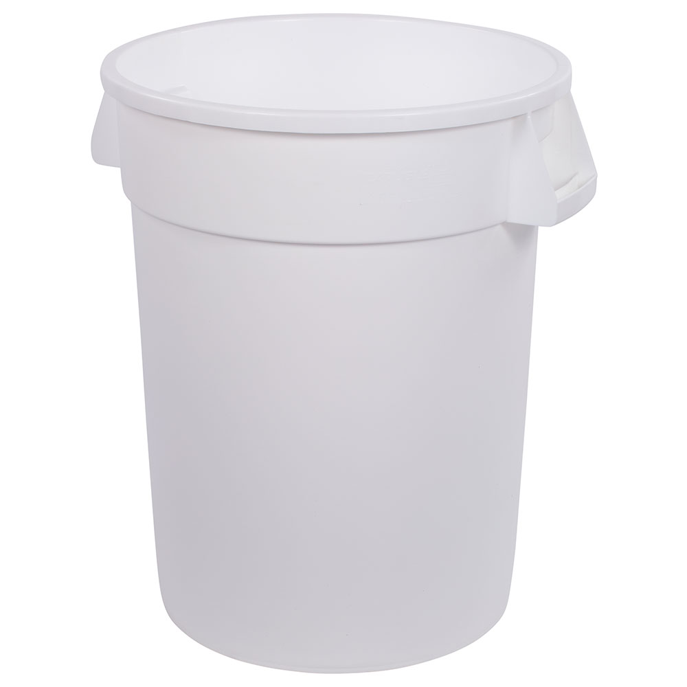 Carlisle 34103202 32-gallon Commercial Trash Can - Plastic, Round, Food Rated