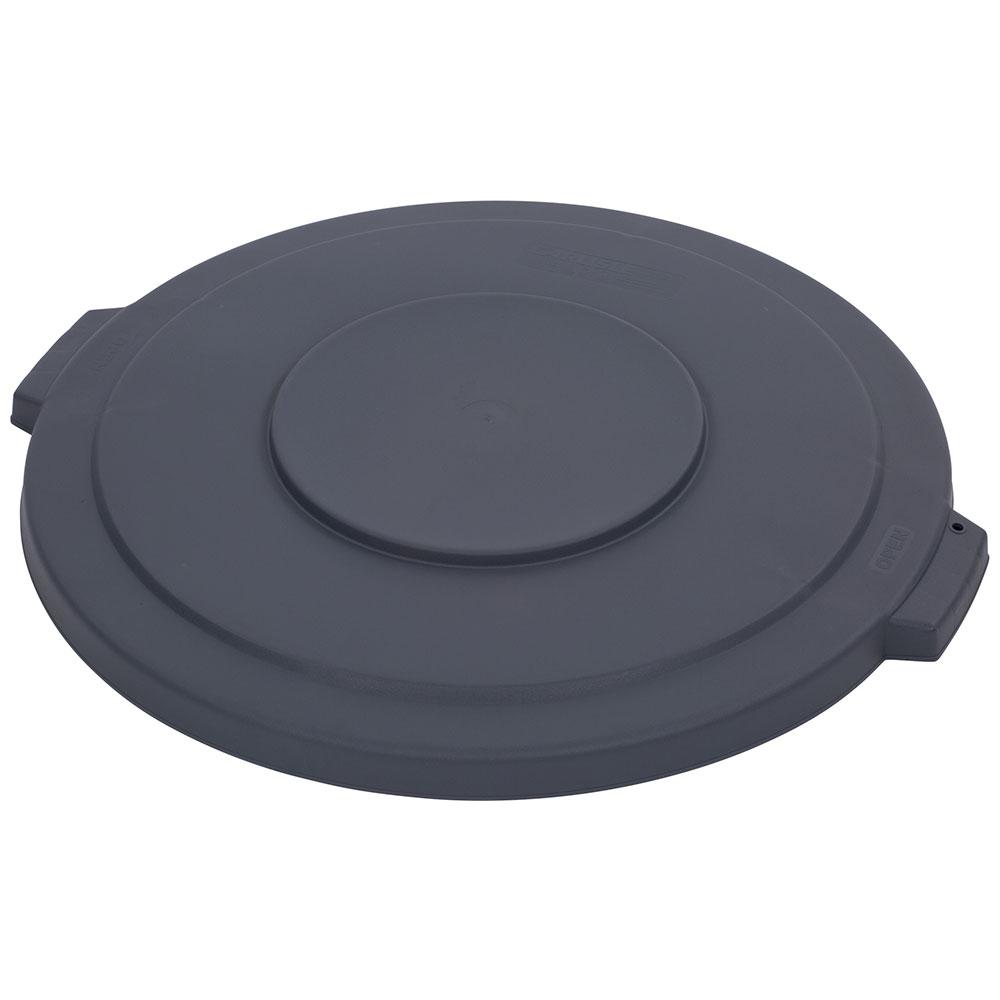 Carlisle 34103323 32-gal Round Waste Container Lid - Polyethylene, Gray