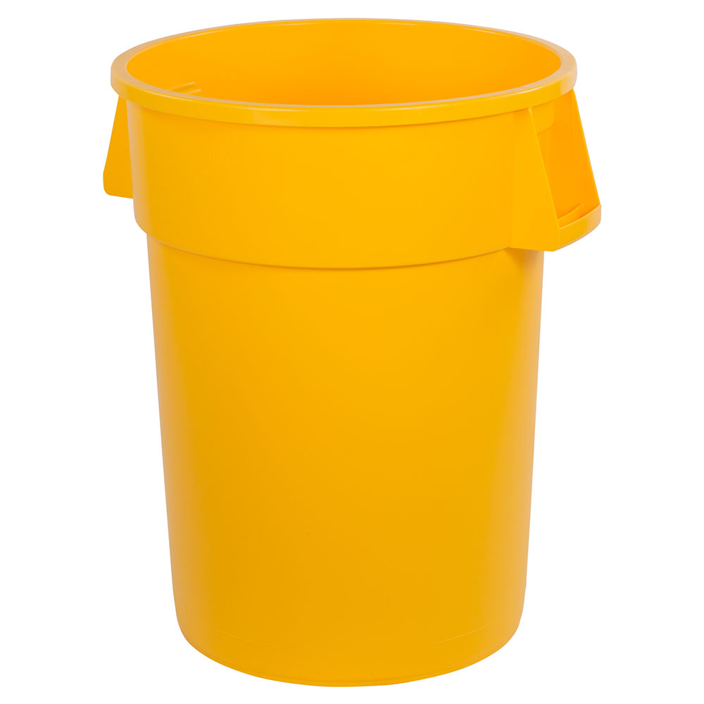 Carlisle 34104404 44-gallon Commercial Trash Can - Plastic, Round, Food Rated