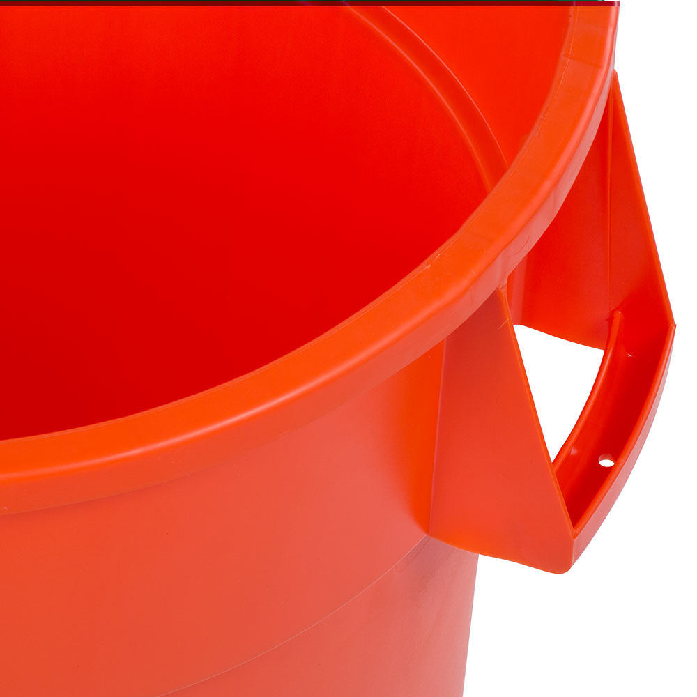 Carlisle 34104424 44-gallon Commercial Trash Can - Plastic, Round, Food Rated