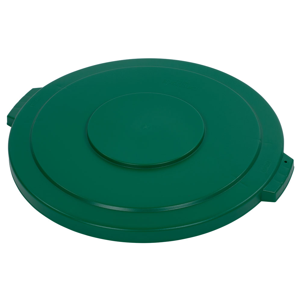 Carlisle 34104509 44-gal Round Waste Container Lid - Polyethylene, Green