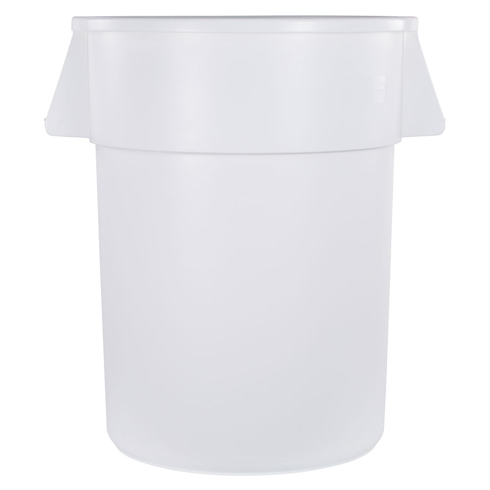 Carlisle 34105502 55-gallon Commercial Trash Can - Plastic, Round, Food Rated