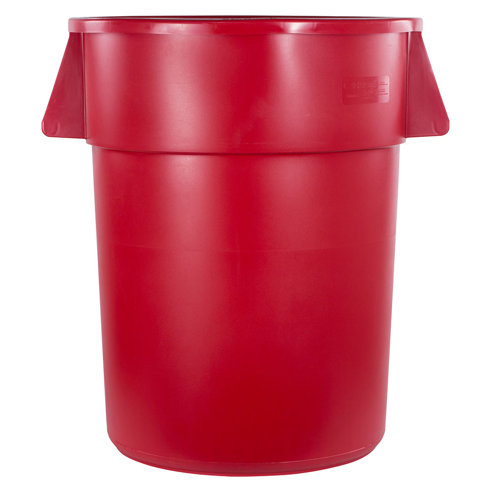 Carlisle 34105505 55-gallon Commercial Trash Can - Plastic, Round, Food Rated