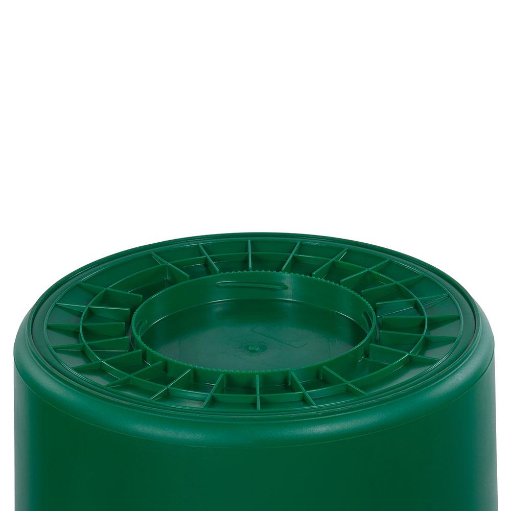 Carlisle 34105509 55-gal Multiple Materials Recycle Bin - Indoor/Outdoor