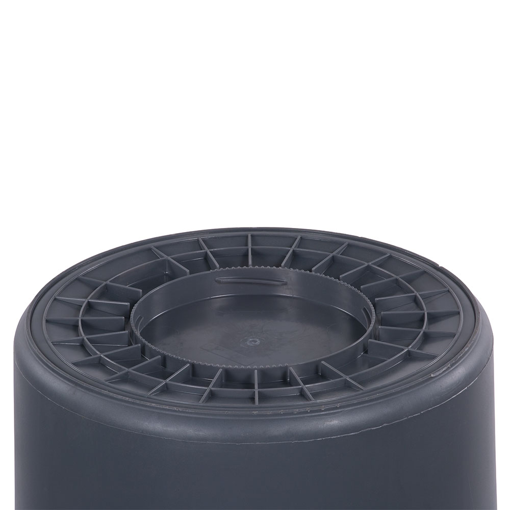 Carlisle 34105523 55-gallon Commercial Trash Can - Plastic, Round, Food Rated