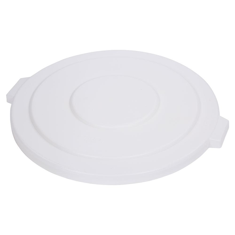 Carlisle 34105602 55-gal Round Waste Container Lid - Polyethylene, White