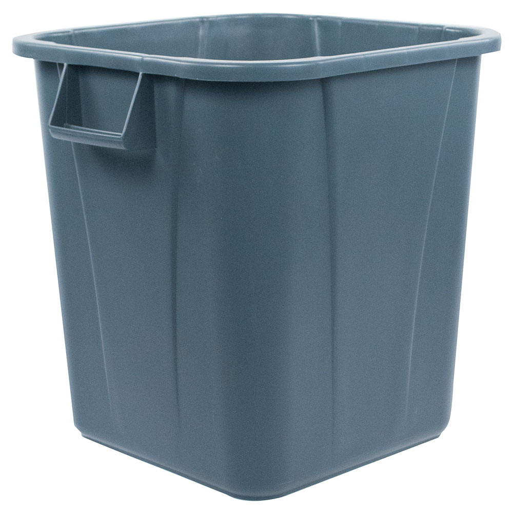 Carlisle 34152823 28-gallon Commercial Trash Can - Plastic, Rectangular, Food Rated