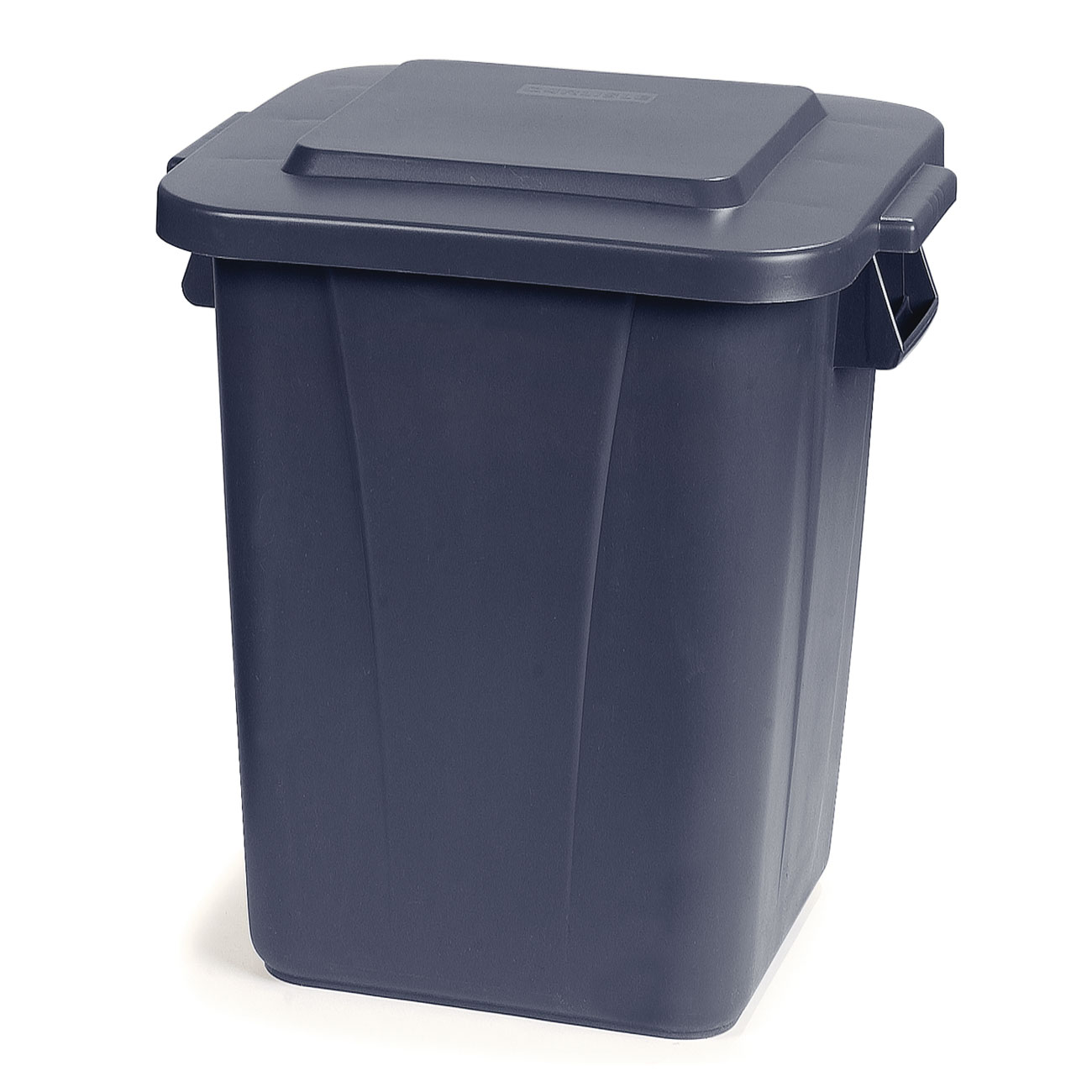 Carlisle 34154023 40-gallon Commercial Trash Can - Plastic, Square, Food Rated