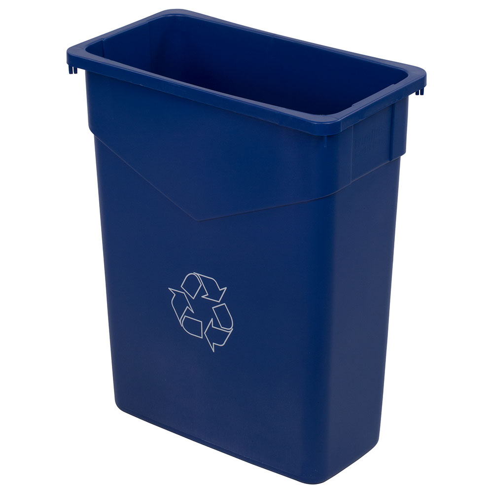 Carlisle 342015REC-14 15-gal Multiple Materials Recycle Bin - Indoor