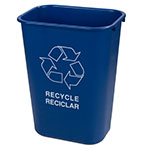 Carlisle 342941REC14 10.3-gal Multiple Materials Recycle Bin - Indoor