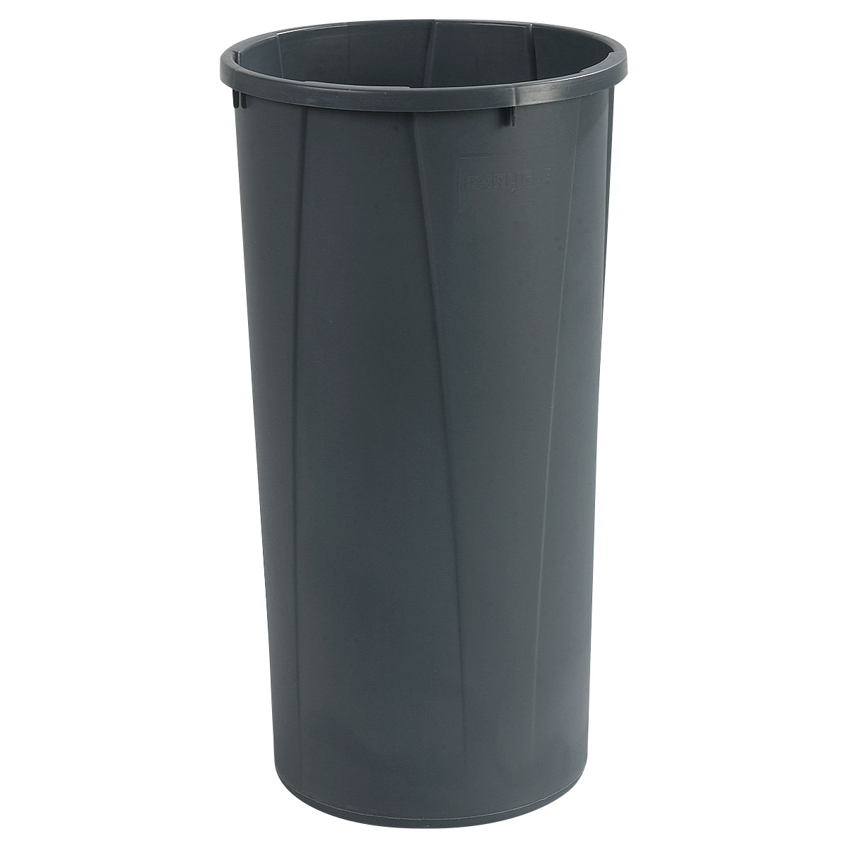 Carlisle 34312223 22-gallon Commercial Trash Can - Plastic, Round, Built-in Handles
