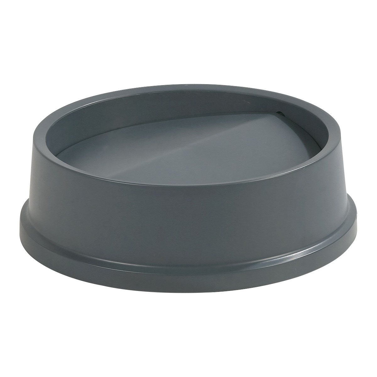 Carlisle 343123-23 Round Swing Top Trash Can Lid - Plastic, Gray