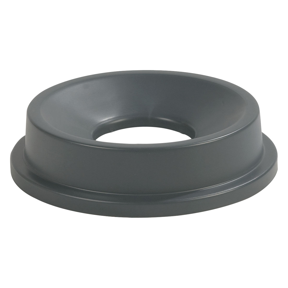 Carlisle 343124-23 Round Funnel Trash Can Lid - Plastic, Gray